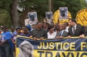 Celebrities rally for Trayvon Martin