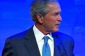 Bush beats familiar drum in new speech