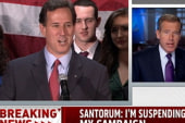 The positive factors from the Santorum...
