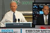 Biden pushes economic fairness