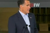Romney blames Obama for factory closure in...