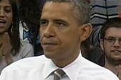 President Obama presses advantage on...