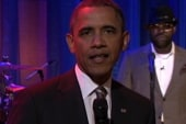 Obama slow-jamming for the youth vote