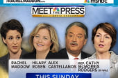 Rachel Maddow to appear on Sunday's Meet...