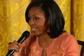 l Panel: First Lady gets candid