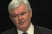 Newt Gingrich's 'weird and creepy' goodbye