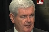 Top Lines: Gingrich's goodbye, spiking the...