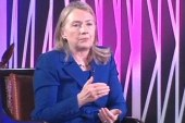 Clinton hopeful for woman president,...