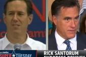 Santorum endorses Romney in an email