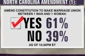 NC passes anti-marriage equality amendment