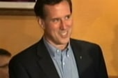 Santorum endorses Romney