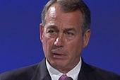 Boehner's ultimatum: billions in cuts, but...