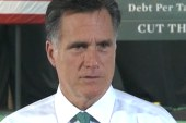 Romney: I stand by what I said, whatever I...