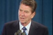 Ronald Reagan's blood up for auction