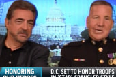 DC set to honor troops in 'Star'-Spangled...