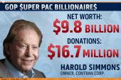 Super Pac billionaire bankrollers