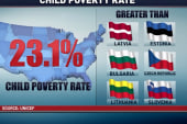 Childhood poverty numbers paint stark picture