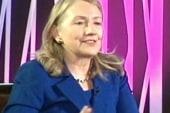 Hillary Clinton running for president in...
