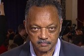 Rev. Jesse Jackson reacts to Scott Walker...