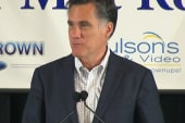 Mr. Romney's neighborhood