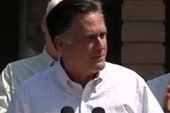 Romney camp defends cuts to public service...