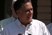 Romney defends his comments on teachers,...