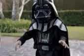 May the Force be with Little Darth Vader