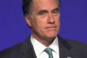 Romney does the 'Dewey'