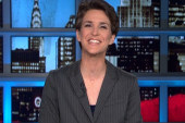 Maddow welcomes return of voice and Best...