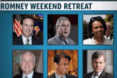Romney brings together GOP heavy hitters...