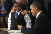 An historic day for Obama, Supreme Court