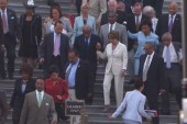 Democrats walk out during Holder contempt...
