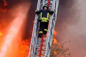 Firefighters battle blazes without health...