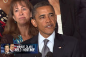 President Obama boxes in Republicans on...