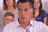 Romney loud in attacks, and quiet on...