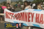 SuperPACs fundraising next to Romney retreats