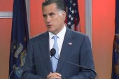 Romney booed for talking about his policies