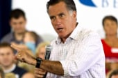 Romney leaves his hole, addresses Bain...