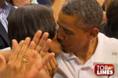 Top Lines: Kiss cam, Thin Mints, Bain and ...
