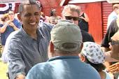 Obama kicks off two day swing through the...