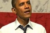 Romney fabricates new Obama to avoid...