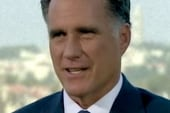 Romney in a corner, can't respond on taxes