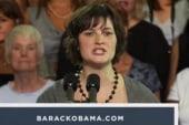 Sandra Fluke campaigns with President Obama