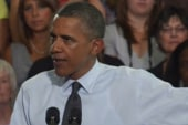 Obama rallies against GOP's women's health...