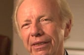 Lieberman gives exit interview