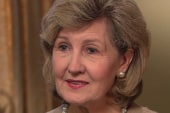 Sen. Kay Bailey Hutchison gives exit...