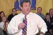 Christie the pick for the big speech, but...