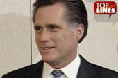 Top Lines: Romney, Biden, chains and a guffaw