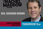 Sherrod Brown on TRMS Thursday