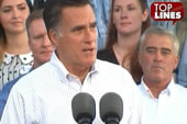 Top lines: Romney, Ogre, Palin and The Dude